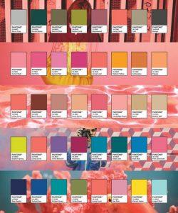 Pantone 2019 Color Palettes