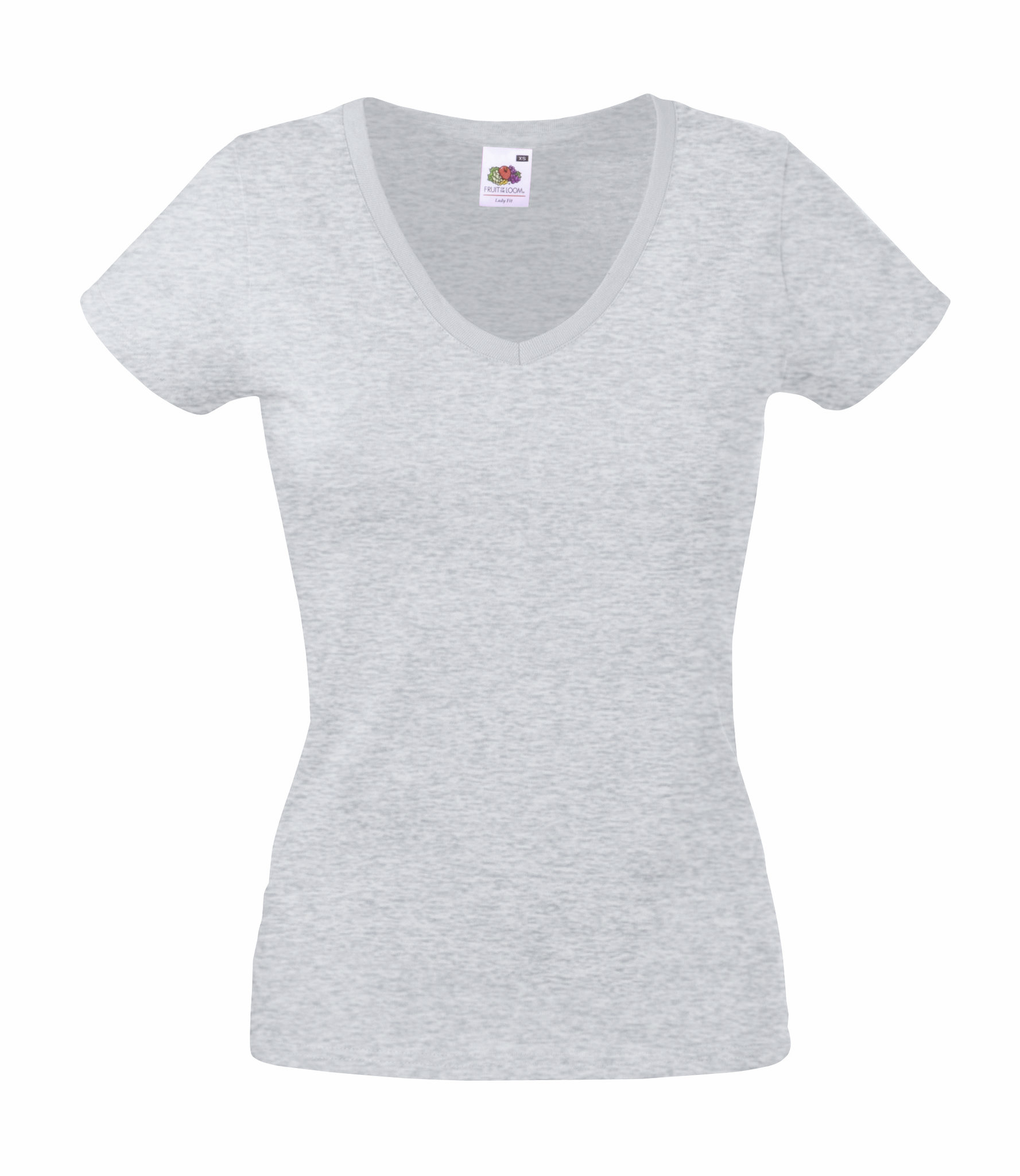 98ff54c80d1e8 Fruit of the Loom 61-398-0 - Camiseta Para Dama Valueweight con Cuello en V